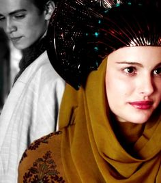 """Unsaid feelings... I love how Anakin looks in the back,just simply smiling at her after she says,""""Well,my Jedi protector will have to prove how good he is."""" So cute :) << I always noticed that, it is just adorable."""