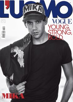 Mika Covers LUomo Vogue July/August 2015