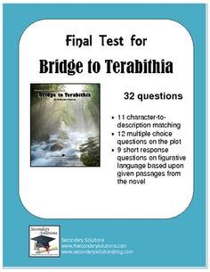 images about Bridge to Terabithia on Pinterest | Bridge to terabithia ...