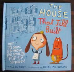 kleinSTYLE | The House That Jill Built : Lift-the-flap und Pop-up Buch | http://kleinstyle.com