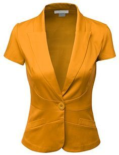 short sleeve jacket tailored women - Google Search