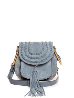 Hudson mini suede cross-body bag | Chloé | MATCHESFASHION.COM US