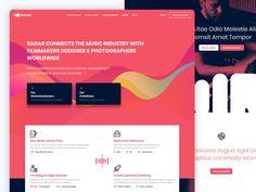 Radar Music by Cihan Cata, Ui Ux Design, Music Industry, Filmmaking, Creative, Cinema