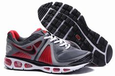 cheap for discount 51874 4158c Nike Air Max Tailwind 4 Men s Running Shoe 453976 070 Grey Black Red