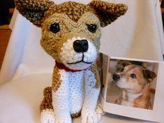Custom Crochet Dog Made to Look Like Owner's Dog, Stuffed Dog, Custom Dog, Canine, Pet Memorial, Dog Memorial, Pet Remembrance, Look Alike