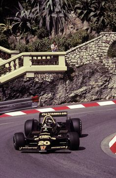 James Hunt, Walter Wolf Racing, 1979 Monaco Grand Prix.