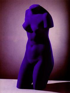 Blue Venus. Yves Klein