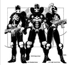 Rifts Coalition soldiers