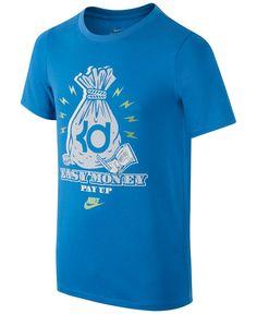 size 40 4a44d b84aa Nike Boys  Dri-FIT KD Easy Money T-Shirt   Reviews - Shirts   Tees - Kids -  Macy s