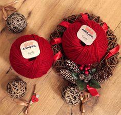 Il #buongiorno del #19dicembre è #rossonatale, #Adriafil #Candy 50 ..a #Natale non può mancare! - 6 ❤  http://bit.ly/AdriafilCandy