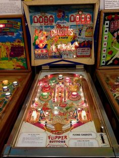 Flying Chariots pinball machine made by Gottlieb in 1963