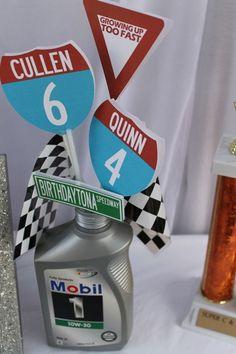 Resultado de imagen para decorations cars party 50 birthday