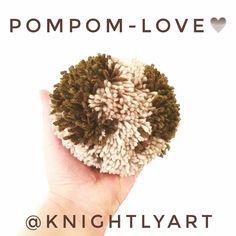 knightlyart - Made in Hamburg: Pompom-Love!