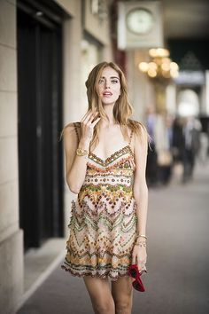 Autumn romance: 10th look of PFW SS16   The blonde salad   Chiara Ferragni in Valentino