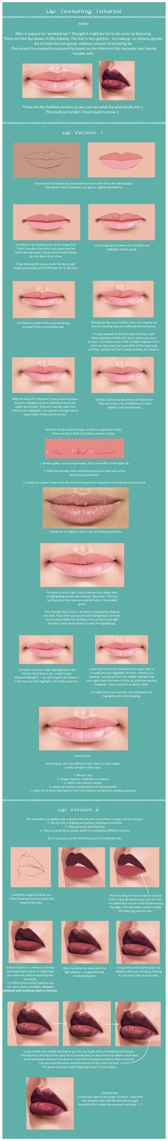 Lip Tutorial by gothic-icecream.deviantart.com on @deviantART