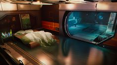 From the Chrysalis: Photo Cyberpunk Aesthetic, Cyberpunk Art, Futuristic Bedroom, Sci Fi Wallpaper, Spaceship Interior, Scenery Background, Marijuana Art, Environment Concept Art, Environment Design