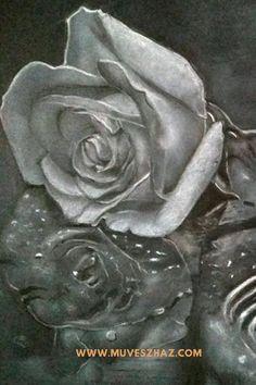 Virág rajzolás- Rózsa rajz Hogyan rajzold meg a virágok királynőjét?