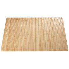 Diese Badematte aus hochwertigem Bambus verleiht Ihrem Bad ein natürliches Ambiente und gleichzeitig einen asiatischen Touch.