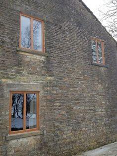 REHAU Edge windows in Golden Oak, installed by McDermott Windows in Blackburn today! Lovely job! #uPVC #installers #REHAU    www.rehauhome.com  http://www.mcdermottwindows.co.uk
