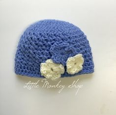 Crochet Baby Hat - F