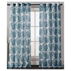 VCNY Amore Print Curtain Panel