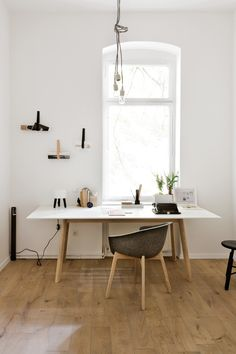 scandinavian workspace