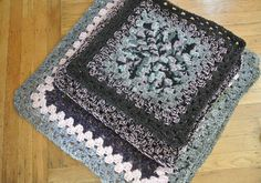 large granny square rugs