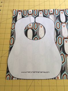 When my boys were babies I went through a ton of bibs each day. I think that as a new mom you can't have too many clean bibs on hand and so I love to make a few as gifts for friends when the…