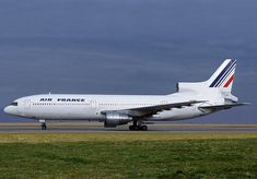 Air France Lockheed L-1011_Air Transat Lockheed Tristar C-FTNA (S/N 1019) was operated by Air France from 1st June 1989 until 28th February 1991