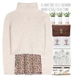"""i break my heart three times per day"" by alienbabs ❤ liked on Polyvore featuring Vanessa Bruno Athé, Polaroid, The Row, LSA International, J.Crew, Lola Rose, clean, organized and shein"