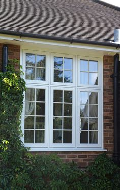 Flush casement windows Suffolk, Essex and Norfolk - The Burgess Group Modern Window Design, Window Grill Design Modern, Window Design, Modern Windows Design, Modern Windows, Front Window Design, Window Trim Exterior, House Designs Exterior, Casement Windows Exterior