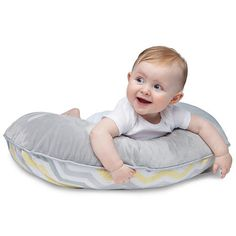Boutique, two-sided slipcover designed to fit the Original Boppy Pillow and Positioner (sold separately). The fashionable two-sided design features a luxuriously soft minky fabric with coordinating piping. This ultra luxe slipcover keeps the Boppy pillow fresh. Zips on and off easily for machine washing. The Original Boppy Pillow is a versatile nursing pillow that lifts baby to a more ergonomic position for comfortable breastfeeding and bottle feeding, giving relief to your arms and back…