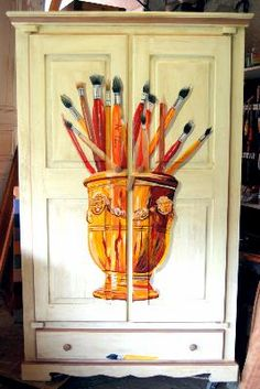 this armoire would look great in my studio!