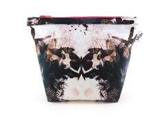 Handmade Butterflies Makeup Bag from maxandrosie.co.uk