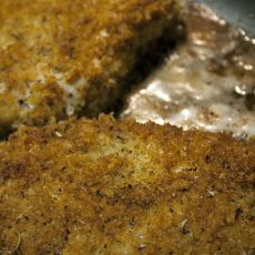 Baked Herb-Crusted Chicken Breasts