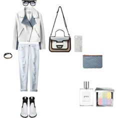 """white"" by gleaniaw on Polyvore"