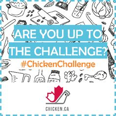The Great Canadian Chicken Challenge #ChickenChallenge #ChickendotCA