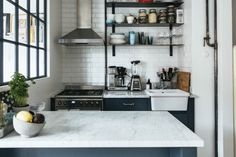 A Tiny Swedish Apartment Makes the Most of 355 Square Feet | We love a teeny apartment that proves that you can have it all in a small space. Here are tips on how to lay out tiny rooms and small apartments.