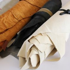 leather working@damagedduchessatelier Leather Working, Napkin Rings, Atelier, Napkin Holders
