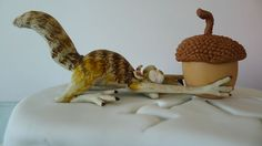Ice Age cake  - Scrat, by Karine Zablit - © 20th Century Fox