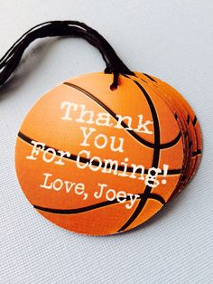 Basketball Themed Party Favor Tags by prettypaperparty on Etsy