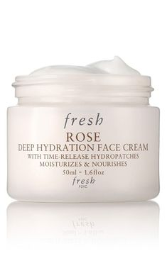 Rose hydration cream – Use it every day as part of the morning and night time beauty ritual / @nordstrom #nordstrom