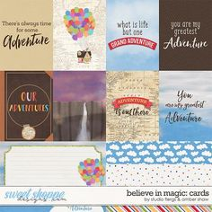 Believe in Magic Love Adventure: Cards by Amber Shaw & Studio Flergs