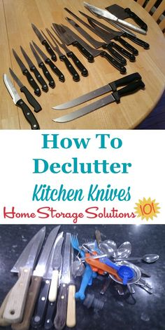 How to declutter kit