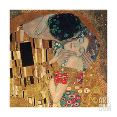 The Kiss, c.1907 (detail) Giclee Print by Gustav Klimt at Art.com