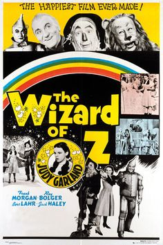 Wizard of Oz Film Poster - Rainbow - New Movie Poster