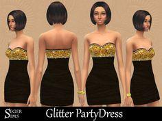 SegerSims' Glitter PartyDress
