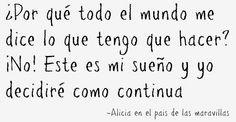 Alicia...