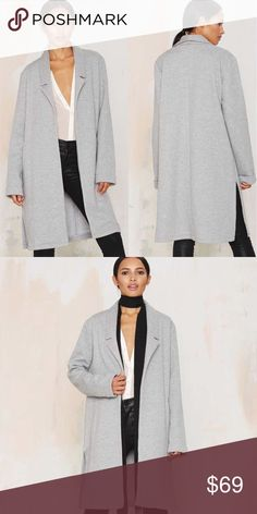 [Glamorous Structured Sweater] 🎉New (J030) Price neg. Sold out online!  🚫trades Nasty Gal Jackets & Coats
