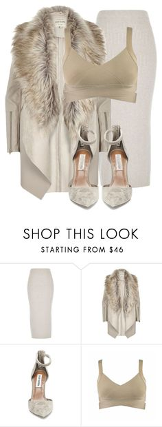 """""""Untitled #3000"""" by xirix ❤ liked on Polyvore featuring River Island and Steve Madden"""